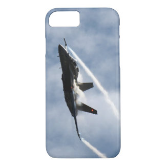 F/A-18 Fighter Jet Plane Air Show Stunt Flying iPhone 7 Case