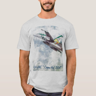 """F/A-18 HORNET and F/A-18C """"Chippy Ho! 2004 """" T-Shirt"""