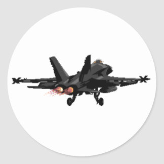 F/A-18 Hornet Fighter Jet Stickers