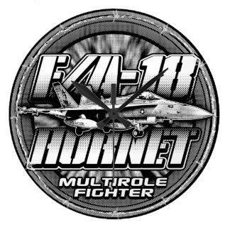 F/A-18 Hornet Large Clock Acrylic Wall Clock