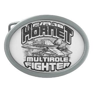 F/A-18 Hornet Pewter Belt Buckle