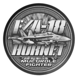 F/A-18 Hornet Plate Melamine Plate