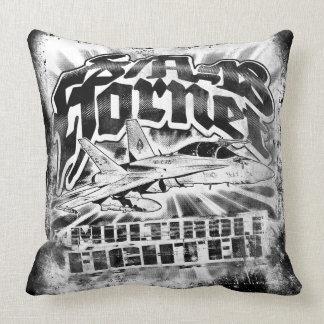 F/A-18 Hornet Throw Pillow Throw Pillow
