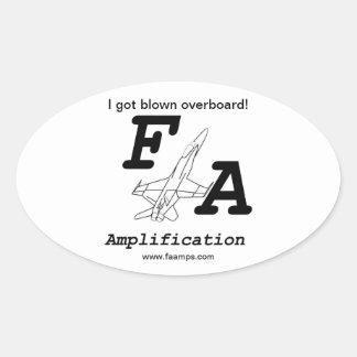 F/A Amplification Sticker