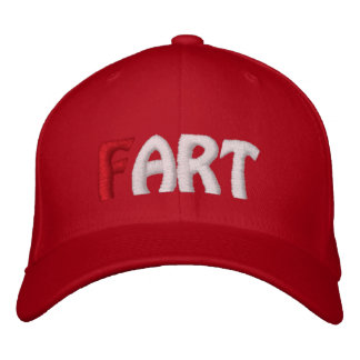 (F)ART - Red Hat Embroidered Baseball Cap