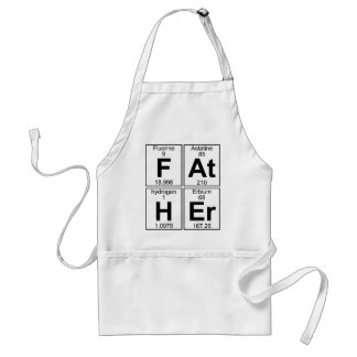 F-At-H-Er (father) - Full Standard Apron