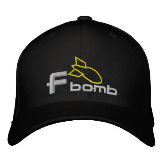 F Bomb Embroidered Cap