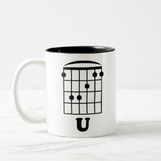 F Chord U Two-Tone Mug
