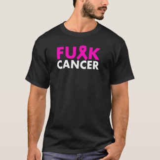 F*CK CANCER Pink Ribbon Shirt