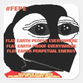 F.E.P.E.; F.E.P.E; F.E.P.E (YOUTH) (Sticker) Square Sticker