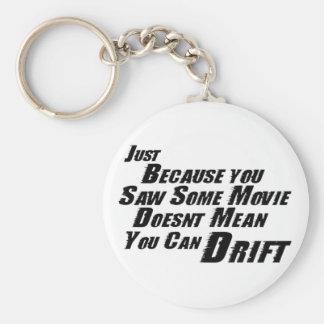 F&F Can't Drift Key Chains