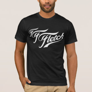 F F Fletch on  Black T-Shirt