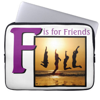 F for Friends Computer Sleeve