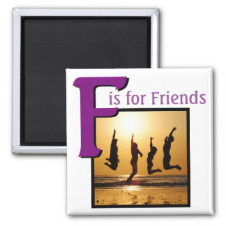 F for Friends Magnet