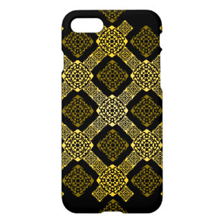 f gold diagonal iPhone 7 case