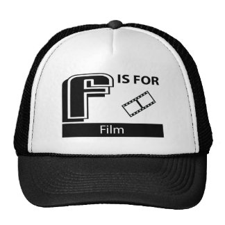 F Is For Film Mesh Hats
