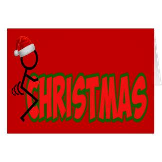 F**k Christmas Card
