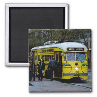 F-Line Streetcar Magnet