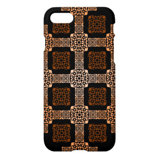 f orange square iPhone 8/7 case