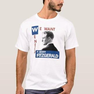 F. Scott Fitzgerald JFK style T-Shirt