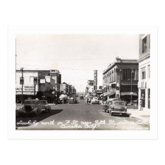 F St., Eureka, California Vintage Postcard