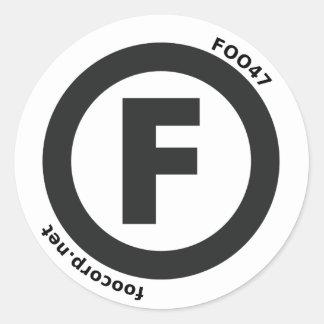 (F) Sticker