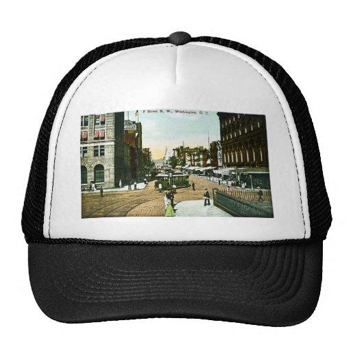 F Street N.W., Washington D.C. Mesh Hat