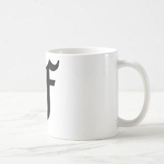 F-text Old English Mugs