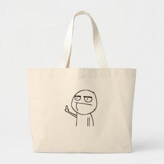F U Dude Jumbo Tote Bag