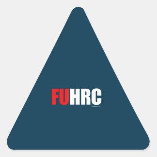 F U H R C - Anti Hillary Triangle Sticker