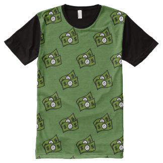 F U Money All-Over Print T-Shirt