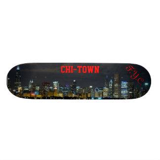 F.Y.C. CHI-TOWN Skyline Skateboard