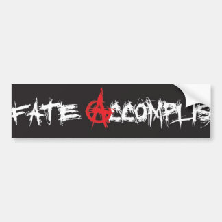 FA Anarchy Bumper Sticker