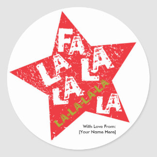 Fa La La Star Studded Label