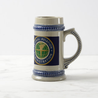 FAA federal aviation administration 18 Oz Beer Stein