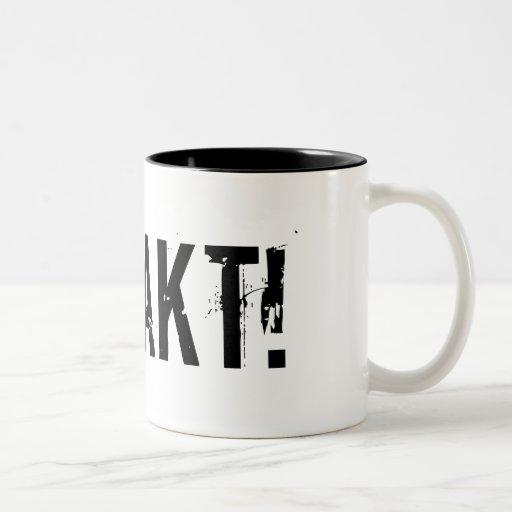 """FAAAKT!"" COFFEE MUGS"