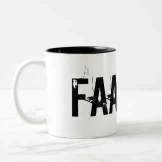 """""""FAAAKT!"""" Two-Tone MUG"""