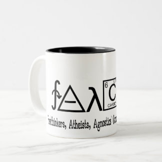 FAACT Atheist group coffe mug