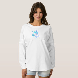 Fab You Lous Word Watercolor Star Jersey