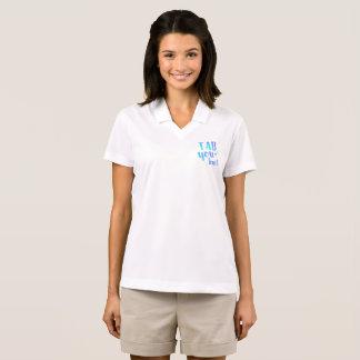 Fab You Lous Word Watercolor Star Polo Shirt