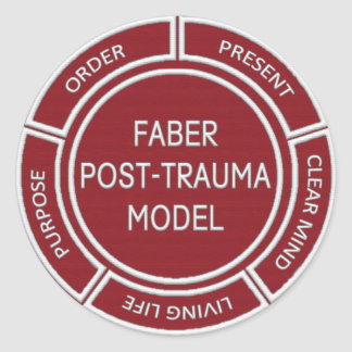 Faber Post Trauma Model Sticker