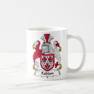 Fabian Family Crest Coffee Mug