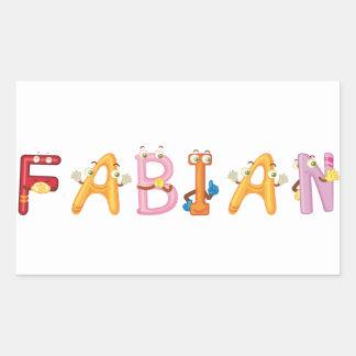 Fabian Sticker
