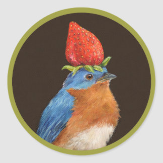 Fabian the bluebird stickers
