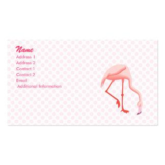 Fabio Flamingo Business Cards