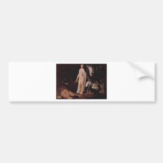 Fable by Gustav Klimt Bumper Sticker