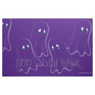 """Fabric Bulletin Board """"Boo-tiful Work"""""""