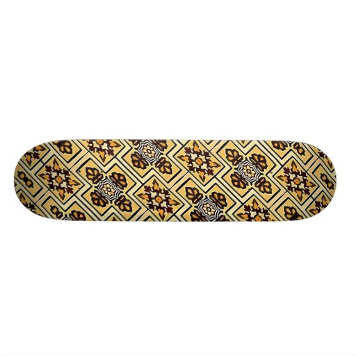 Fabric Decorative Background Skate Board