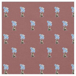 Fabric - Elephants Love Bubbles