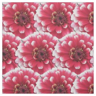 Fabric - Fat Quarter - Bi-Color Zinnia